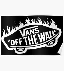 Vans La Flame Poster