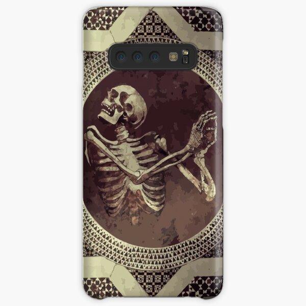 Hannibal: Dancing Skull + Skeleton Mosaic  Samsung Galaxy Snap Case