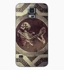 Hannibal: Dancing Skull + Skeleton Mosaic  Case/Skin for Samsung Galaxy