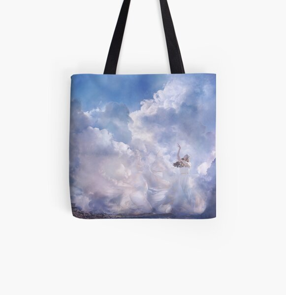Where Earth Meets The Sky All Over Print Tote Bag