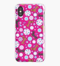 Dachshund Garden Party iPhone Case