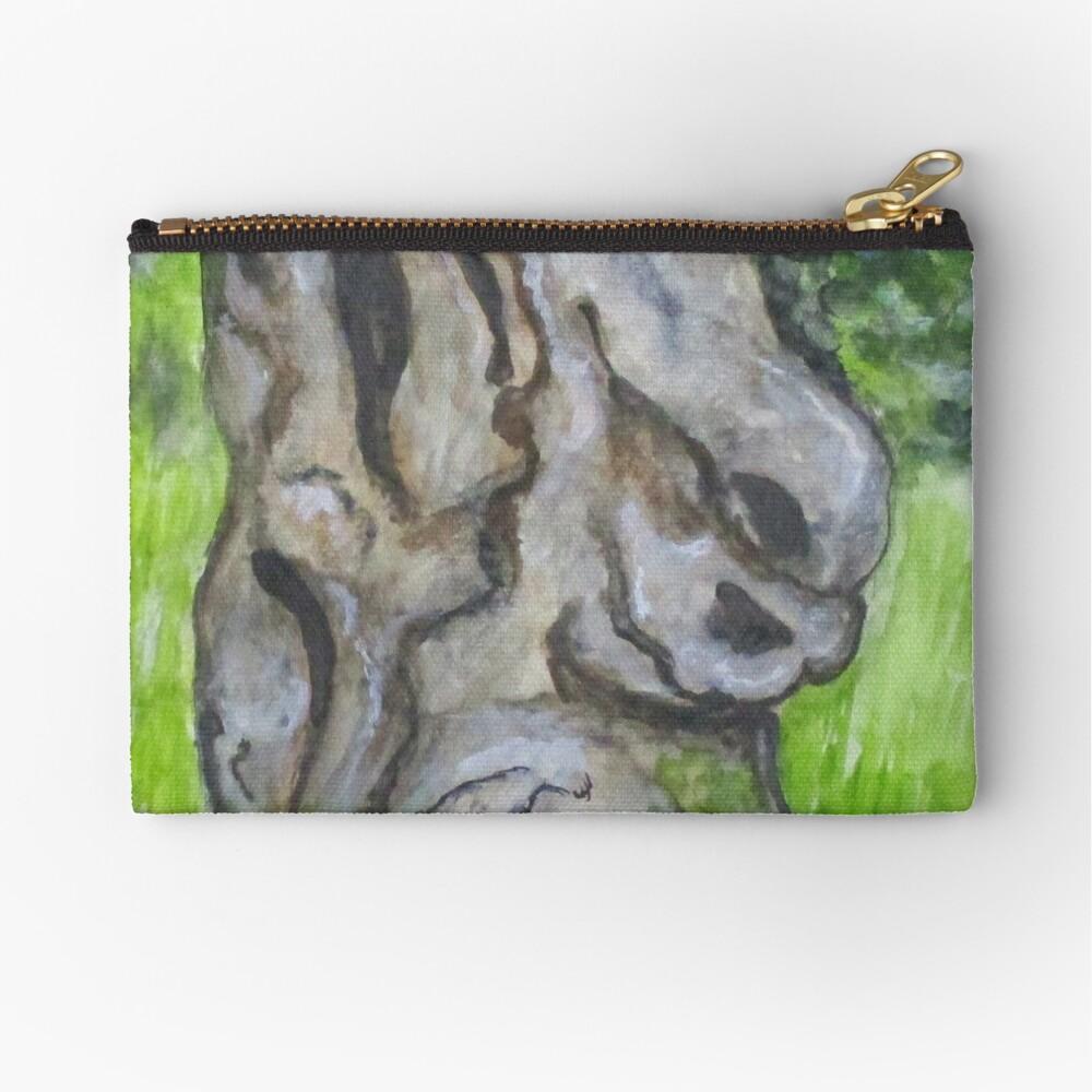 Wisdom Olive Tree Zipper Pouch