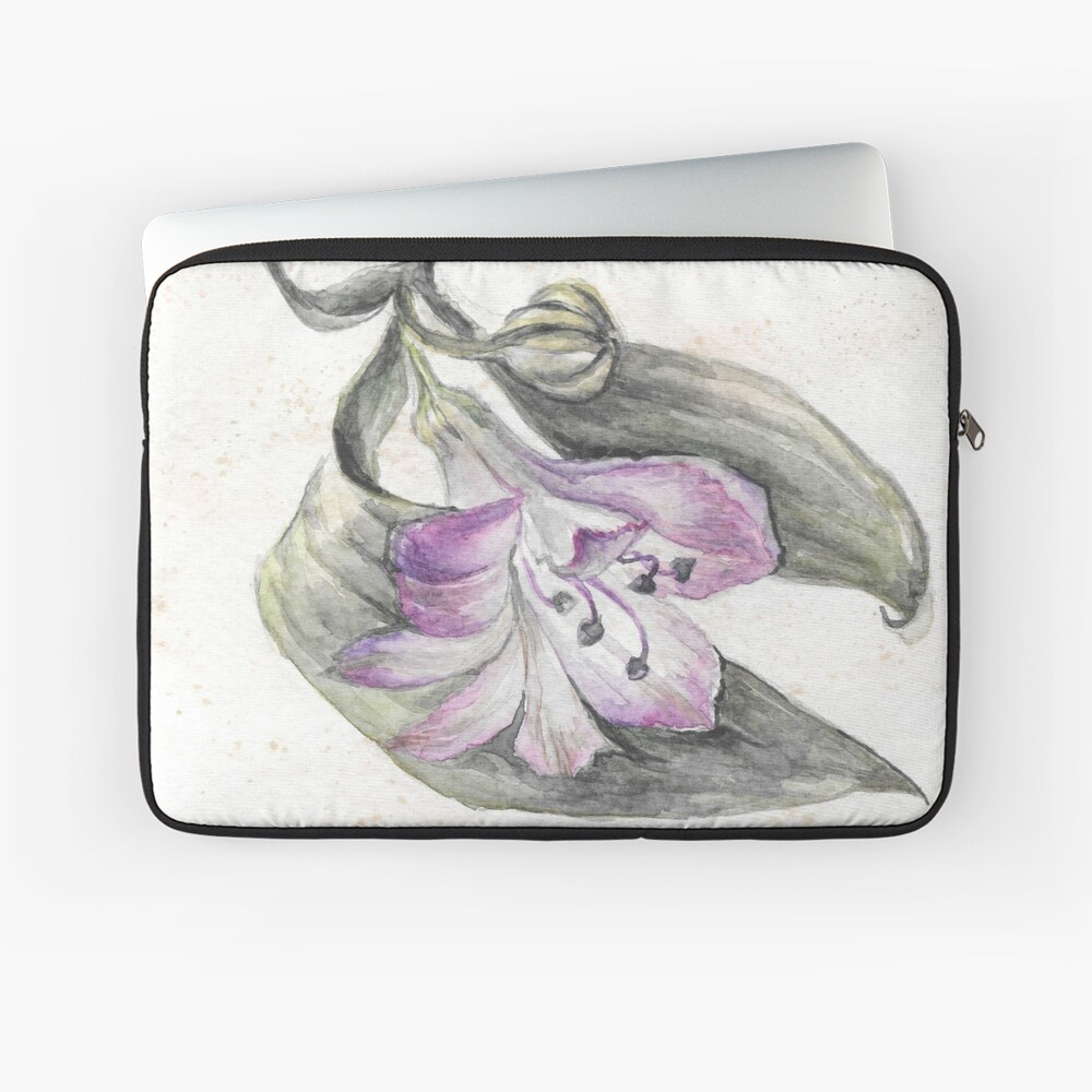 Flower Laptop Sleeve Front