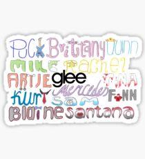 Glee Large Sticker