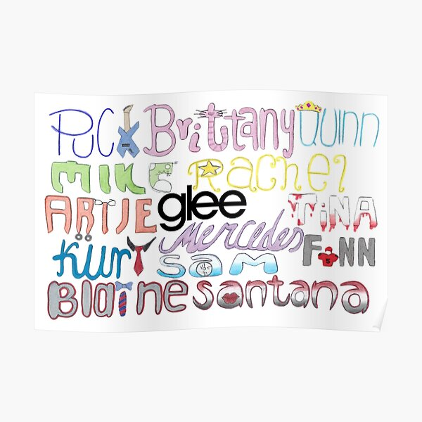 Glee Large Poster