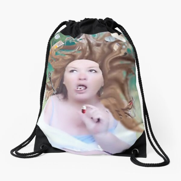 I'm Fine, Thanks For Asking Drawstring Bag