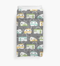 Happy Campers Duvet Cover