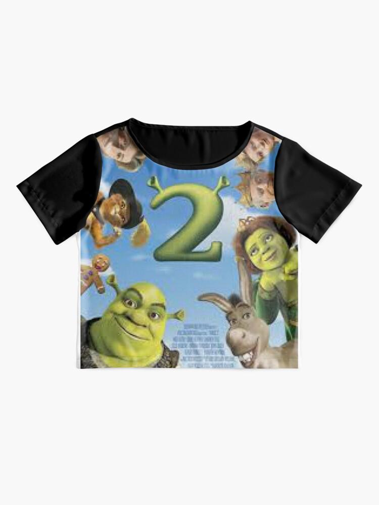 Alternative Ansicht von Shrek 2 Chiffon Top