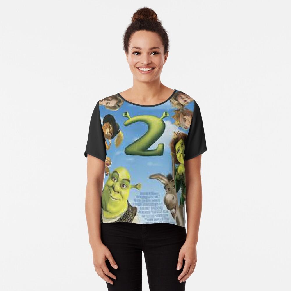 Shrek 2 Chiffon Top