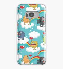 Monsters rainbow Samsung Galaxy Case/Skin