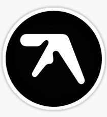Aphex Twin Logo Dark Sticker