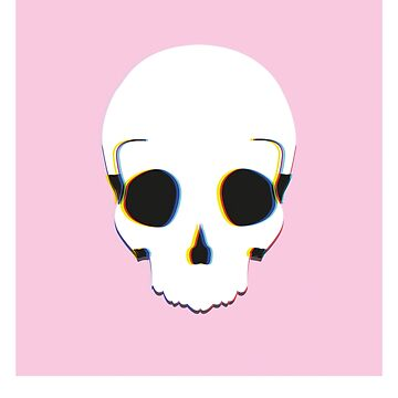 scull phone case by Mchx