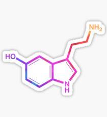 Serotonin - Regenbogen Sticker
