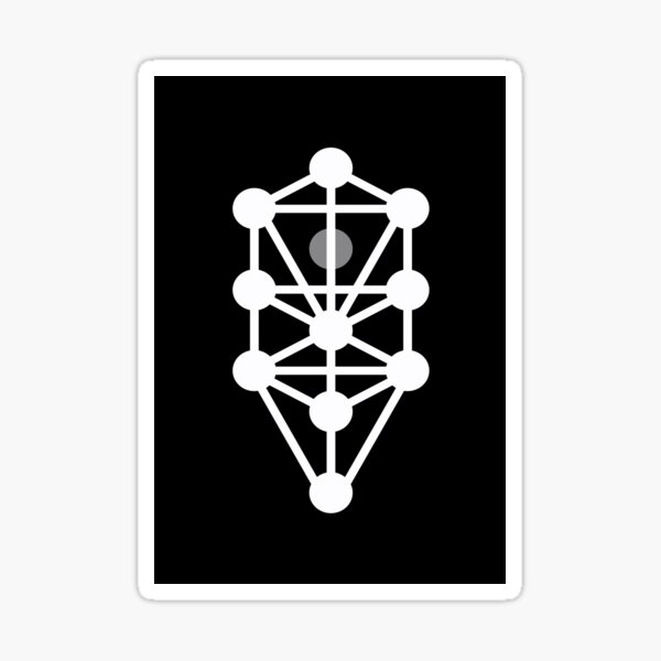 Tree of Life - Monochrome Sticker