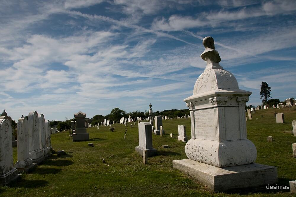 Block Island - Graveyard by desimas