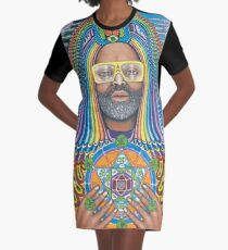 George Clinton Is A Funk Boss Graphic T-Shirt Dress
