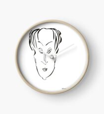 Abstract sketch of face X Clock