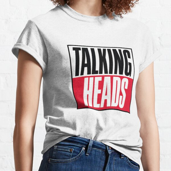 Logotipo de Talking Heads Camiseta clásica