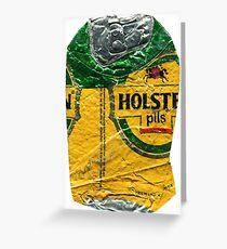 Holsten - Crushed Tin Greeting Card