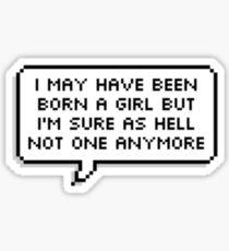 Total Trans Boy Sticker