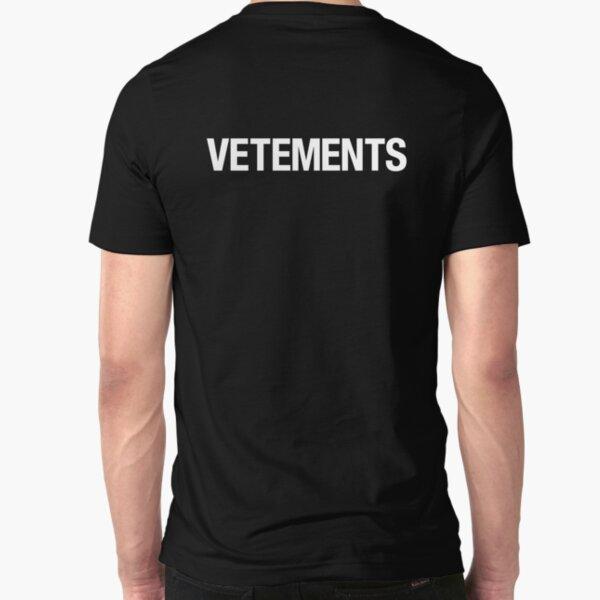 VETEMENTS Slim Fit T-Shirt