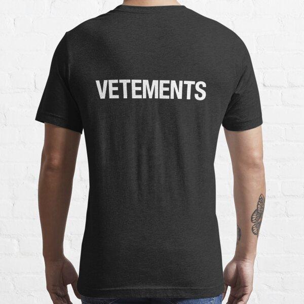VETEMENTS T-shirt essentiel