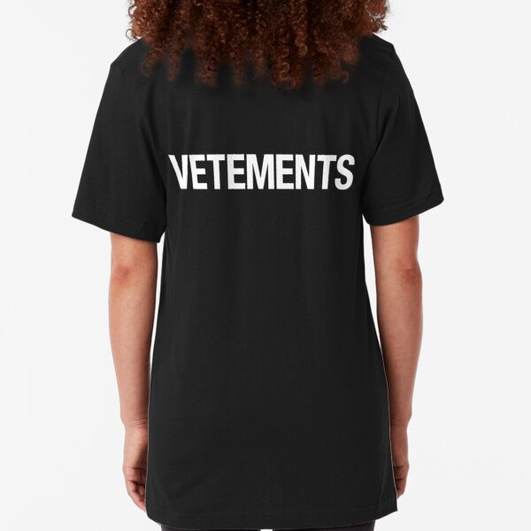 VETEMENTS Slim Fit T-Shirt