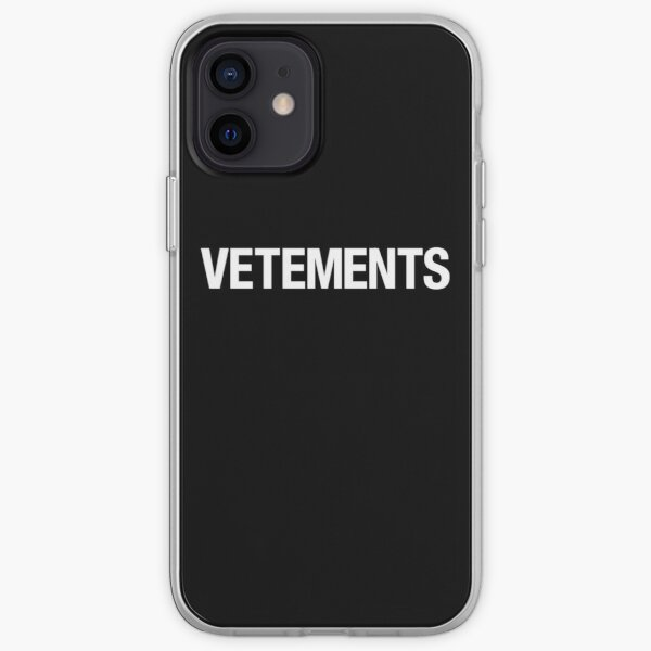 VETEMENTOS Funda blanda para iPhone
