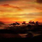 Sunset Island by EnchantedDreams