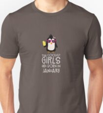 Coolest Girls Birthday in JANUARY Rrcyi T-Shirt