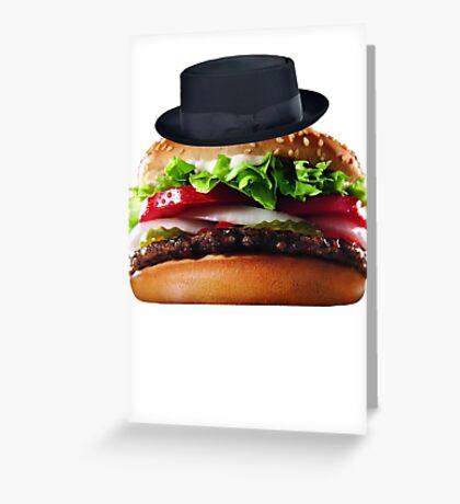 Heisenburger Greeting Card