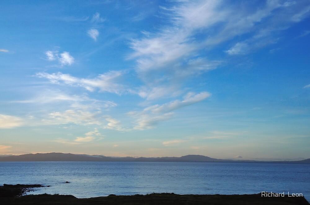 Bay Clouds  •  San Francisco, California by Richard  Leon