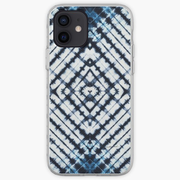 Diamonds Indigo iPhone Soft Case