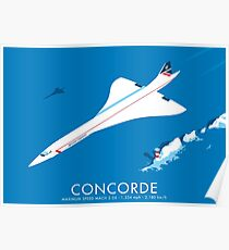 Póster Concorde