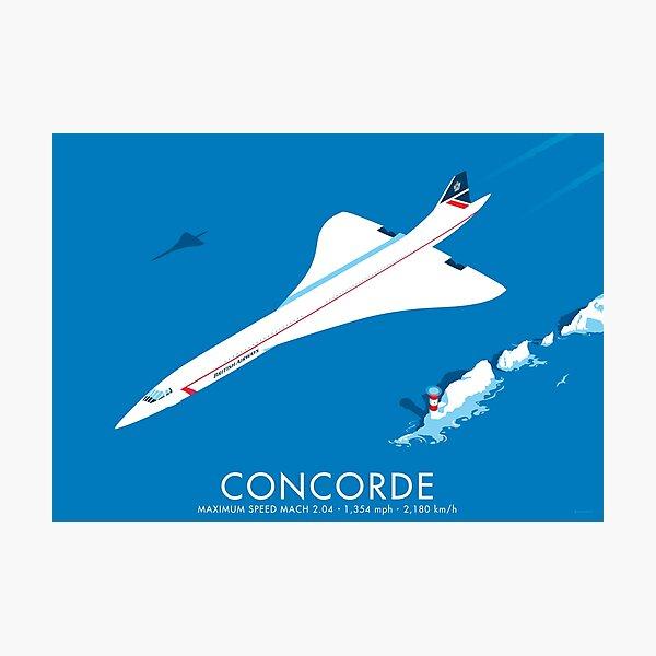 Concorde Photographic Print