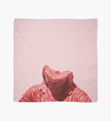 Schüchternes rotes Mädchen Tuch