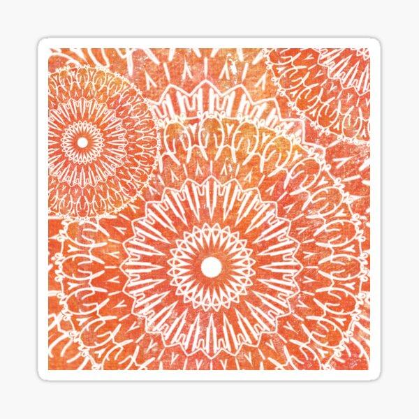 2017 mandala style no. 6 Sticker