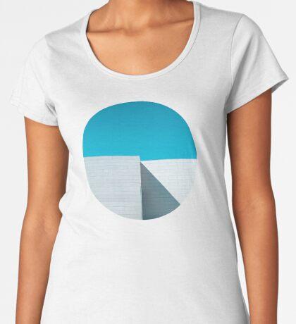 Weißes Gebäude Frauen Premium T-Shirts