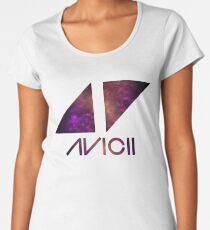 Avicii Purple Nebula Women's Premium T-Shirt
