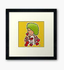 Strawberry girl! Framed Print