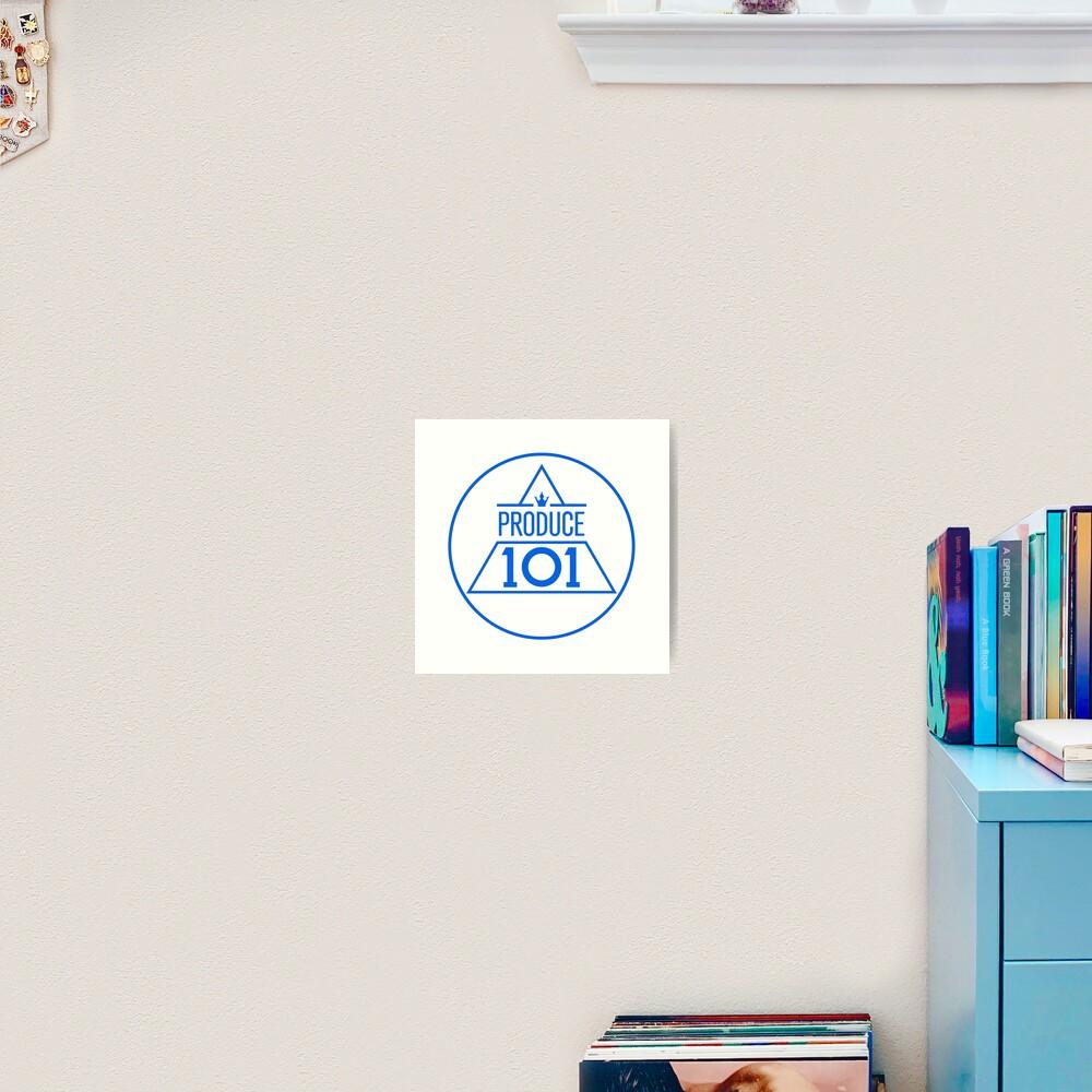Produce 101 logo sticker Art Print