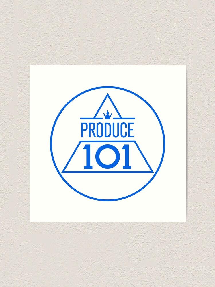 Alternate view of Produce 101 logo sticker Art Print