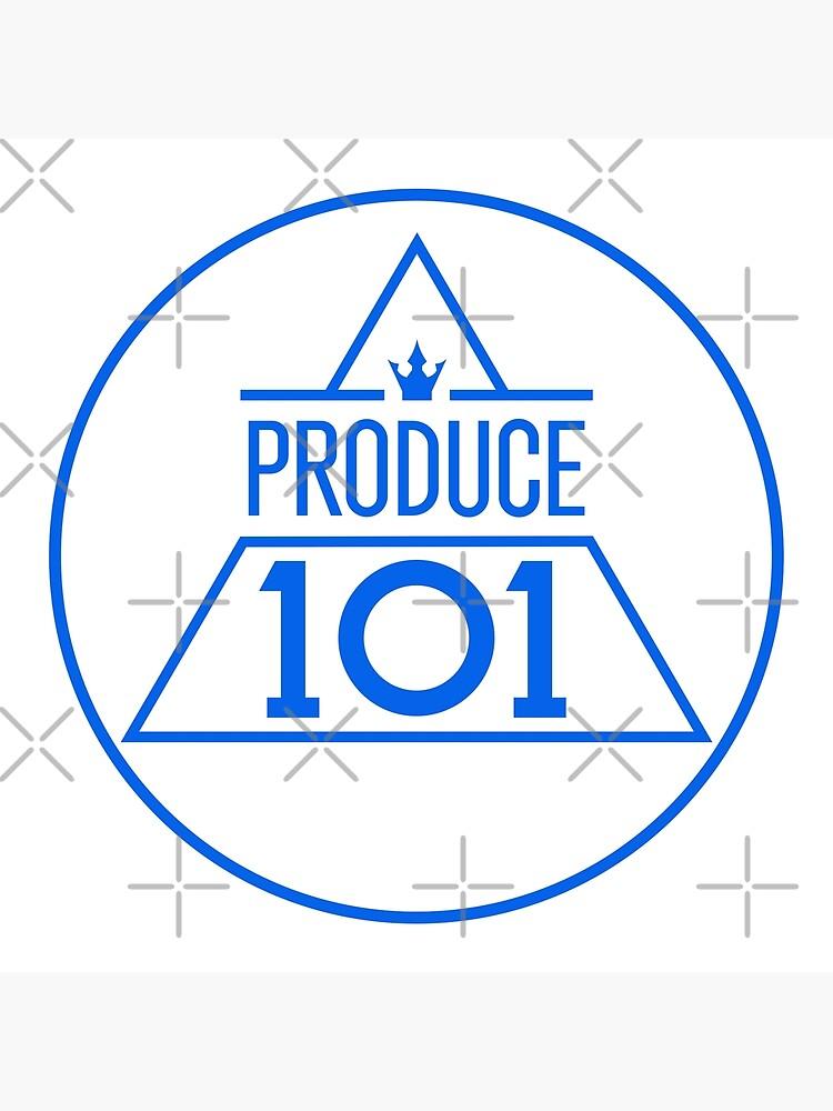 Produce 101 logo sticker by sai08