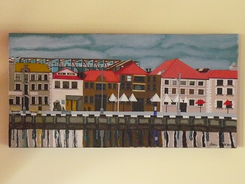Hobart Pier by Joan Wild