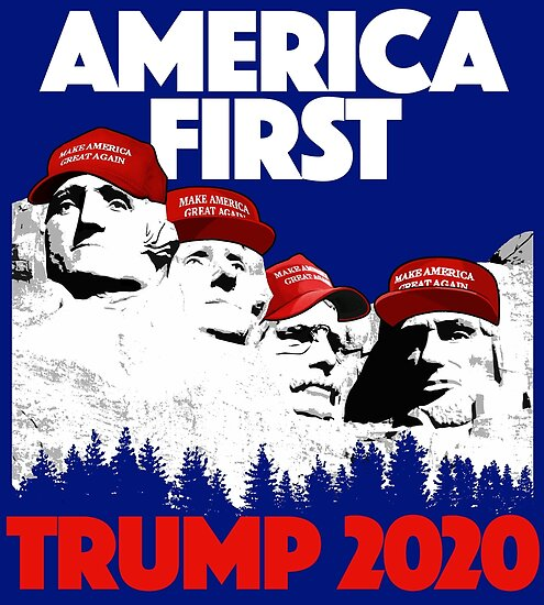"Avatar 4 2024: ""TRUMP 2020 America First"" Posters By VSZNGRFX"