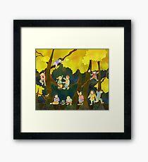Children in Heaven Framed Print