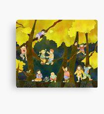 Children in Heaven Canvas Print