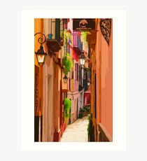 Seville, Colorful Spain Art Print