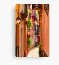 Seville, Colorful Spain Canvas Print