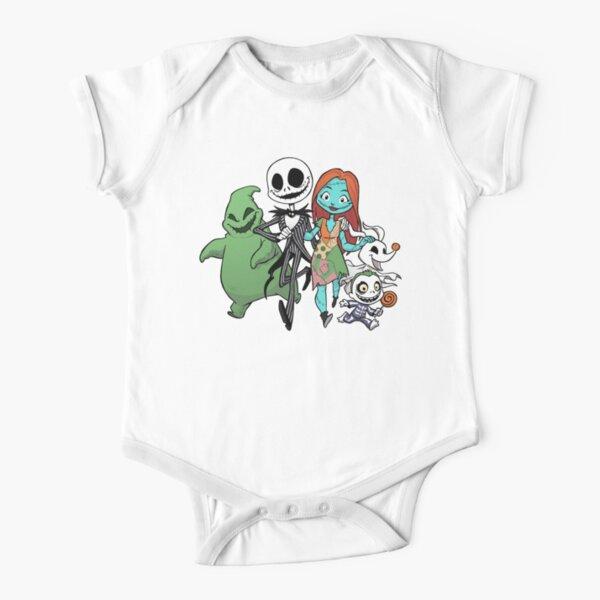 Nightmare BFFs Short Sleeve Baby One-Piece